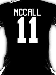 Scott McCall's Jersey - white text T-Shirt
