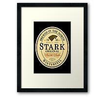 Stark Original Beer Label Framed Print