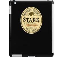 Stark Original Beer Label iPad Case/Skin