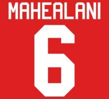 Danny Mahealani Jersey - white text Kids Clothes