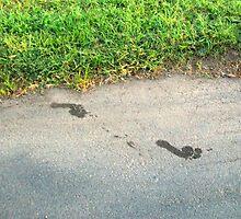 Footprints by KittenFlower