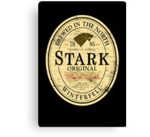Stark Original Beer Label Canvas Print