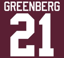 Greenberg Jersey - white text by sstilinski