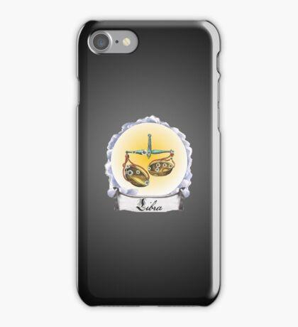 Libra Zodiac Astrology iPhone, iPod Case Fade to Black, Super Lush iPhone Case/Skin