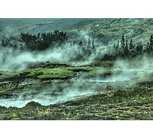 Steamy River Photographic Print