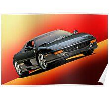 1999 Ferrari 355 Spider Poster