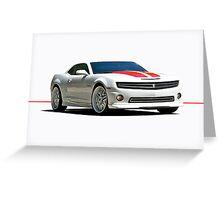 2013 Chevrolet Camaro Greeting Card