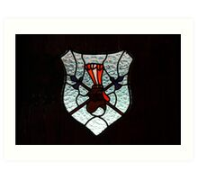 Window Coat of Arms Art Print