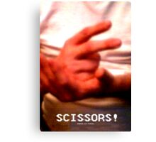 Scissors! Canvas Print