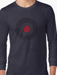 Music on Vinyl Long Sleeve T-Shirt
