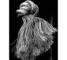 A Frayed Knot Photographic Print