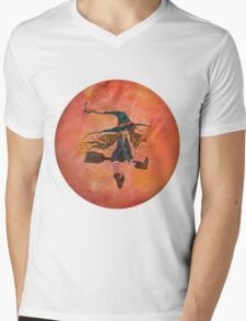 The Little Witch Mens V-Neck T-Shirt
