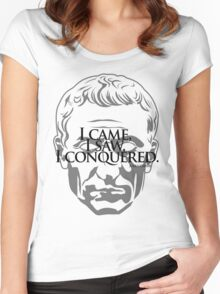 Ceasar Conquered Women's Fitted Scoop T-Shirt