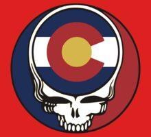 Colorado Stealie Baby Tee