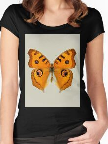 Meadow Argus Butterfly Women's Fitted Scoop T-Shirt