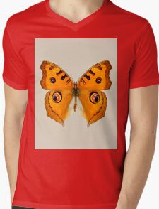Meadow Argus Butterfly Mens V-Neck T-Shirt