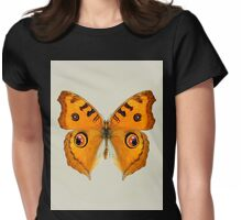 Meadow Argus Butterfly Womens Fitted T-Shirt
