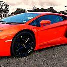 Lamborghini Aventador by Matt Eagles