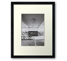 Blackboard Framed Print