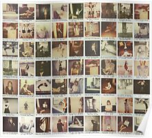 Taylor Swift 1989 Polaroids Poster