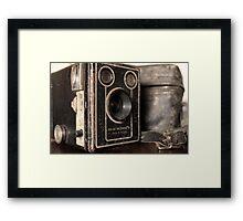 Six-20 Brownie  Framed Print