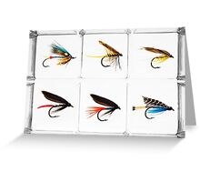 Fly Fishing Lure Greeting Card