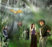 Divergent Paths of Evolution by Nadya Johnson