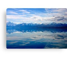 Lake Pukaki and Mount Cook Canvas Print