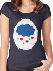 Why so Grumpy? Women's Fitted Scoop T-Shirt