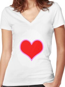 I need your Tenderheart-ness Women's Fitted V-Neck T-Shirt
