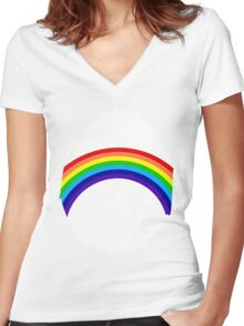 Put a little Cheer in your life Women's Fitted V-Neck T-Shirt