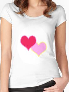 All you need is Love-A-Lot Women's Fitted Scoop T-Shirt