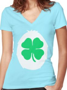 Gimme some of that Good Luck Women's Fitted V-Neck T-Shirt
