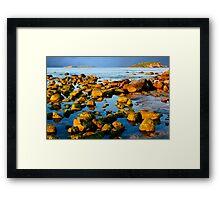 A Rocky Coastline Framed Print