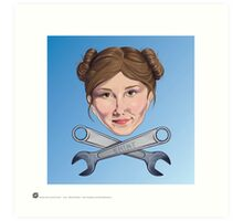 Kaylee and Crosswrenches Art Print