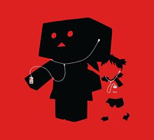 DANBO and YOTSUBA Silhouette Ipod Women's Fitted Scoop T-Shirt