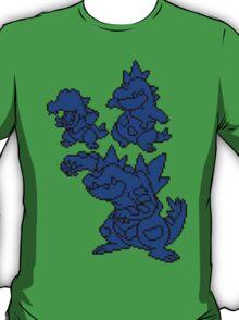Water Johto Starter Silohouettes T-Shirt