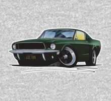 Ford Mustang GT390 Bullitt One Piece - Long Sleeve