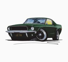 Ford Mustang GT390 Bullitt One Piece - Short Sleeve