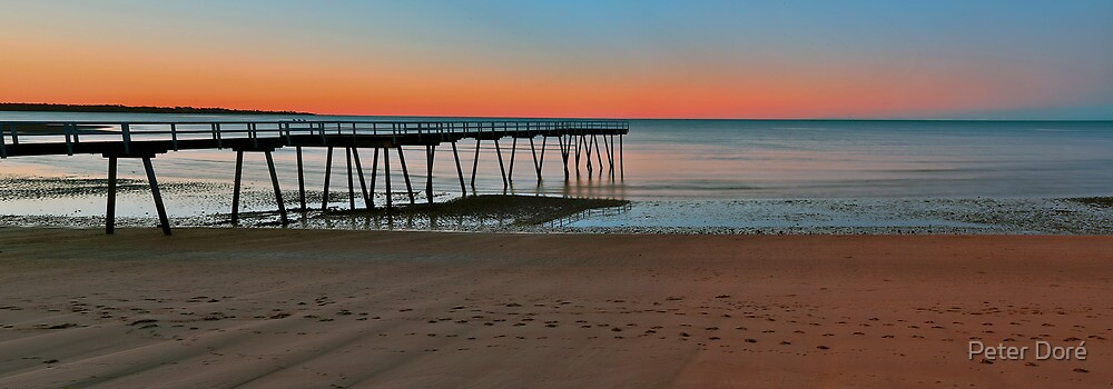 Sunset Panorama by Peter Doré