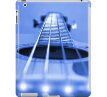 Bass Guitar Blue Tone iPad Case/Skin