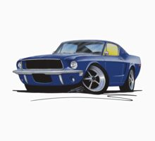 Ford Mustang (1967) Blue One Piece - Long Sleeve