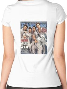 NSYNC Women's Fitted Scoop T-Shirt
