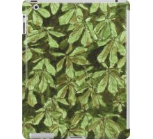 Chesnut leave pattern iPad Case/Skin