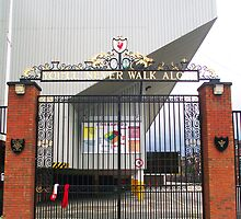 Bill Shankly Memorial Gates - Anfield by Paul Madden