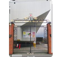 Bill Shankly Memorial Gates - Anfield iPad Case/Skin