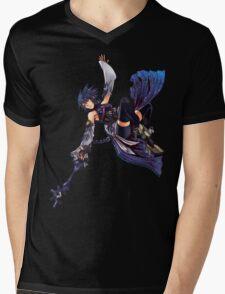 Aqua - Night Sky Edit Mens V-Neck T-Shirt