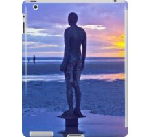 Crosby Beach Iron Man Sunset iPad Case/Skin