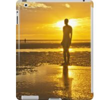 Crosby Beach Orange Sky Sunset iPad Case/Skin