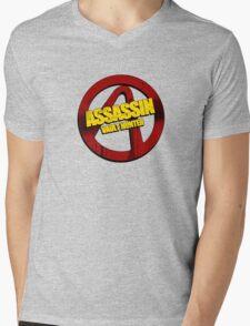 Assassin Mens V-Neck T-Shirt